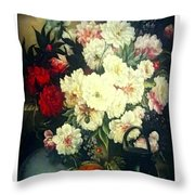 Flower Painting  Throw Pillow