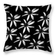 Flower Paper Throw Pillow