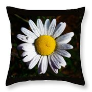 Flower Power Throw Pillow by Bill Cannon