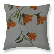 Flower Stem Plucked From Neighbours Garden Throw Pillow
