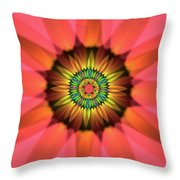 Flower Translucent 14 Throw Pillow