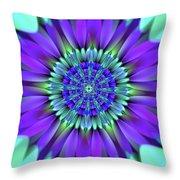 Flower Translucent 19 Throw Pillow
