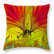 Make Your Own Wings And Fly Away Throw Pillow
