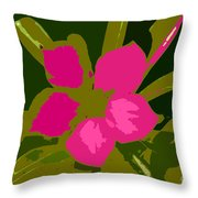 Flower Work Number 17 Throw Pillow