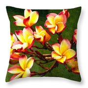 Flowerage Throw Pillow