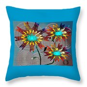 Flowering Dreams Throw Pillow