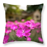Flowering In The Front Throw Pillow