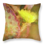 Flowering Pear Throw Pillow