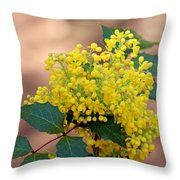 Flowering Plant 032514a Throw Pillow