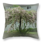 Flowering Tree By Earl's Photography Throw Pillow