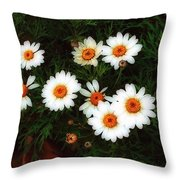 Flowering Yew Throw Pillow