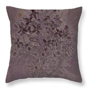 Flowerprint Throw Pillow