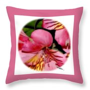 Flowers # 8728_2 Throw Pillow