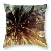 Flowers 001 Throw Pillow