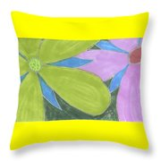 Flowers-13 Throw Pillow