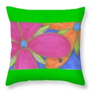 Flowers-15 Throw Pillow