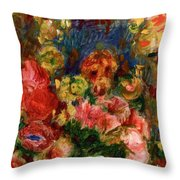 Flowers 1902 Throw Pillow