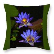 Flowers 2 Throw Pillow
