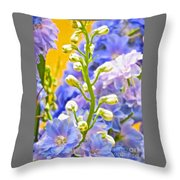 Flowers 39 Throw Pillow