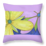 Flowers-5 Throw Pillow