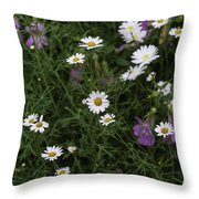 Flowers 6 Throw Pillow