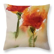 Dance In The Wind Throw Pillow