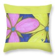 Flowers-9 Throw Pillow