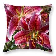 Flowers 731 Throw Pillow