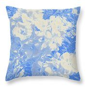Flowers Abstract 2 Throw Pillow
