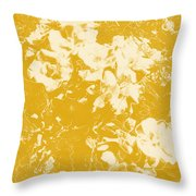 Flowers Abstract 3 Throw Pillow