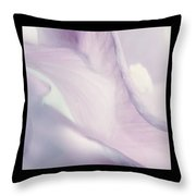 Flowers Abstract Triptych Throw Pillow