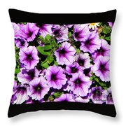 Flowers Alaska July  Throw Pillow