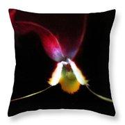 Flower's Aura Throw Pillow