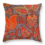 Flowers For Fleet Foxes Throw Pillow