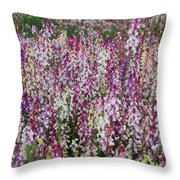 Flowers Forever Throw Pillow