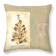 Flowers From Bethlehem  Throw Pillow
