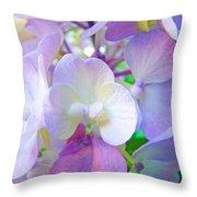 Flowers Hydrangeas Art Prints Floral Garden Baslee Troutman Throw Pillow