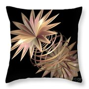 Flowers In Pink Throw Pillow