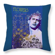 Flowers Of Lindsay Kemp Throw Pillow