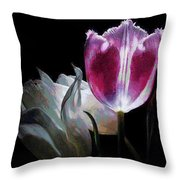Flowers Lit Throw Pillow