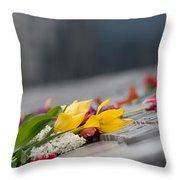 Flowers Memory Throw Pillow