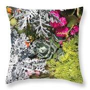Flowers Of Boca II Throw Pillow