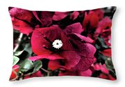 Flowers Of Mount Totems 2 Throw Pillow