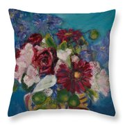 Flowers Of Remembrance Throw Pillow