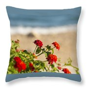 Flowers Of Rhodes Throw Pillow