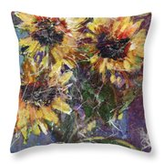 Flowers Of The Gods Throw Pillow