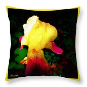 Flowers Of The Universe Throw Pillow