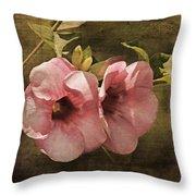 Flowers - Purple Allamanda 2 Throw Pillow