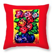 Flowers Study 71916 Throw Pillow