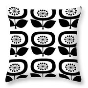 Flower 2 Group  Throw Pillow